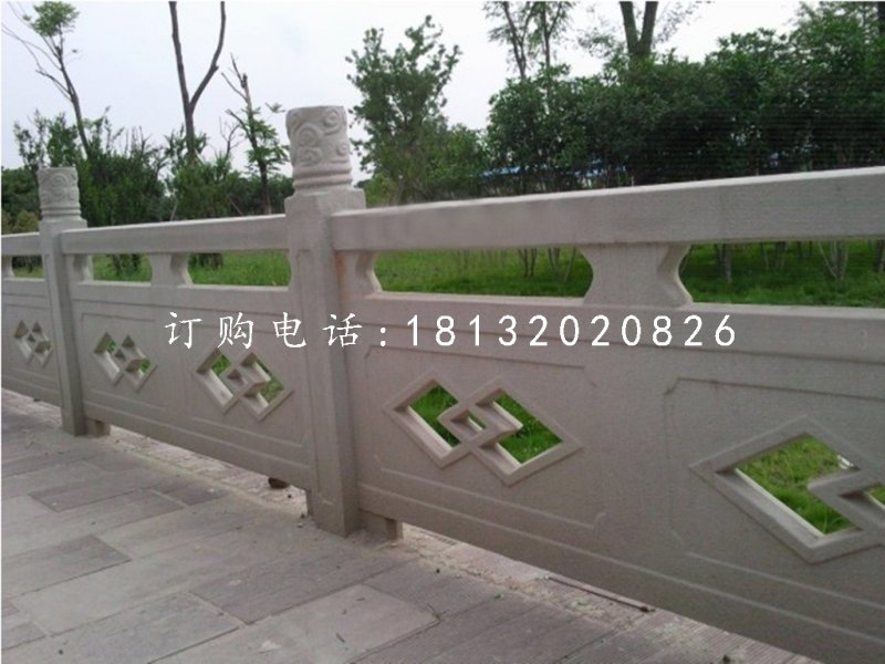 公园石雕栏板,大理石栏板
