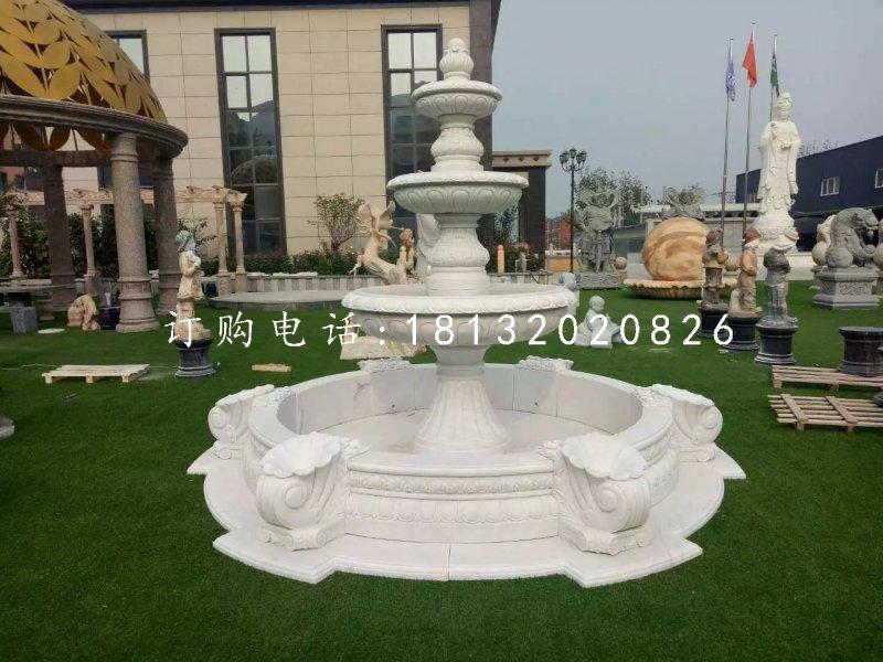 公园石喷泉,欧式喷水盆