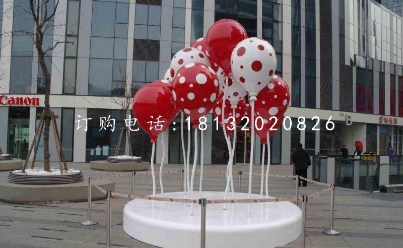 玻璃钢彩色气球商场景观