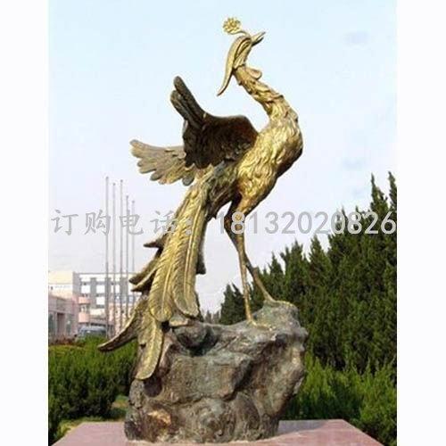 凤凰铜雕公园凤鸣朝阳