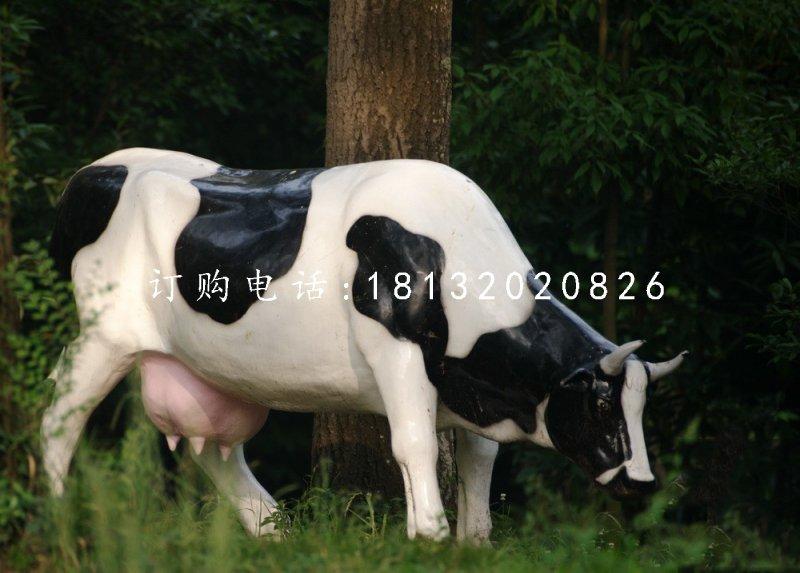 奶牛雕塑玻璃钢动物雕塑