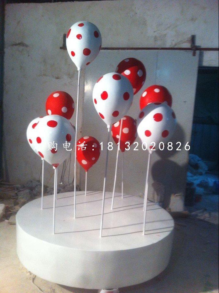 彩绘气球雕塑,玻璃钢商场景观雕塑