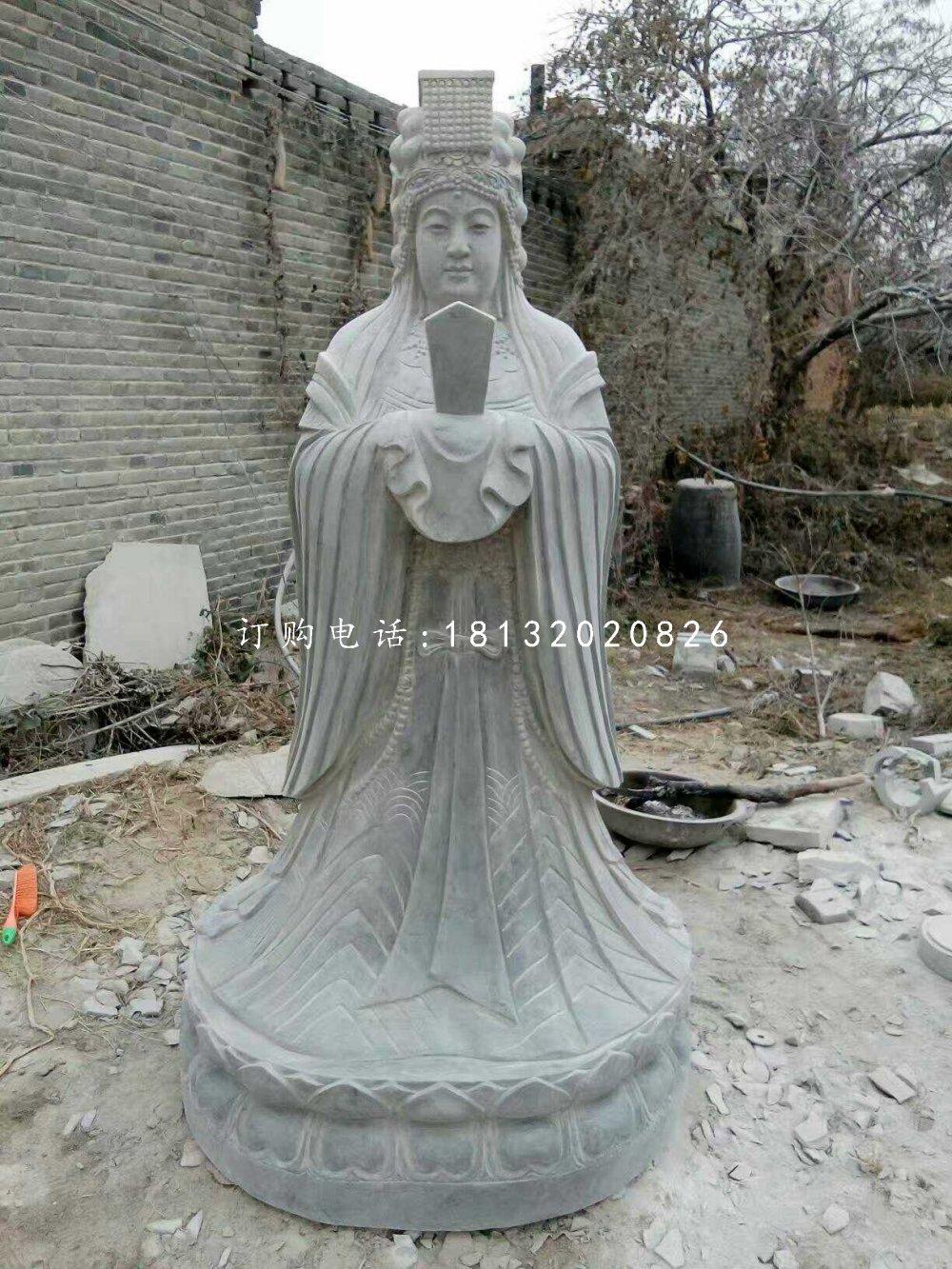 青石妈祖雕塑,广场神仙石雕