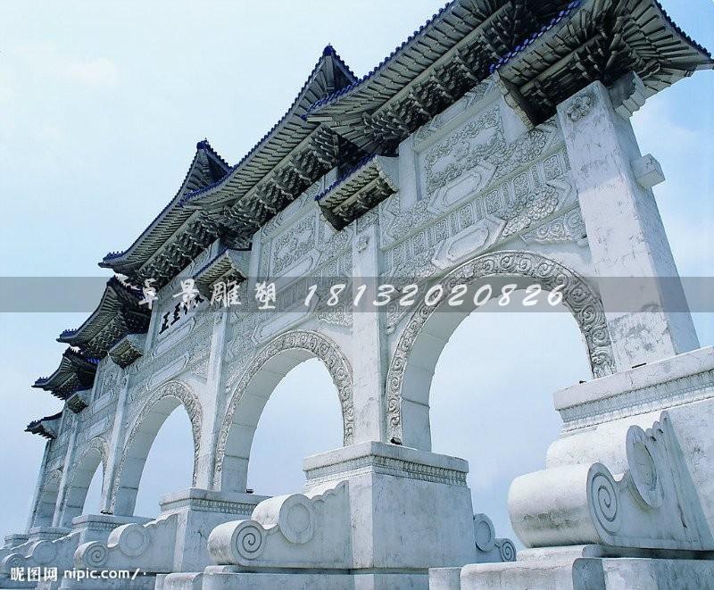 石雕牌坊的起源和发展介绍