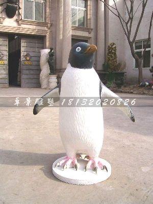 玻璃钢企鹅雕塑仿真动物雕塑