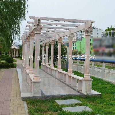 长廊石雕,公园长廊雕塑