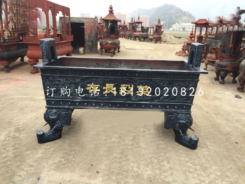 仿古铜香炉的制作方法