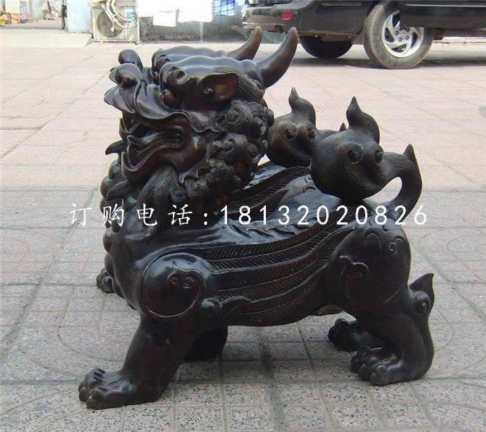 铜雕貔貅摆放注意事项