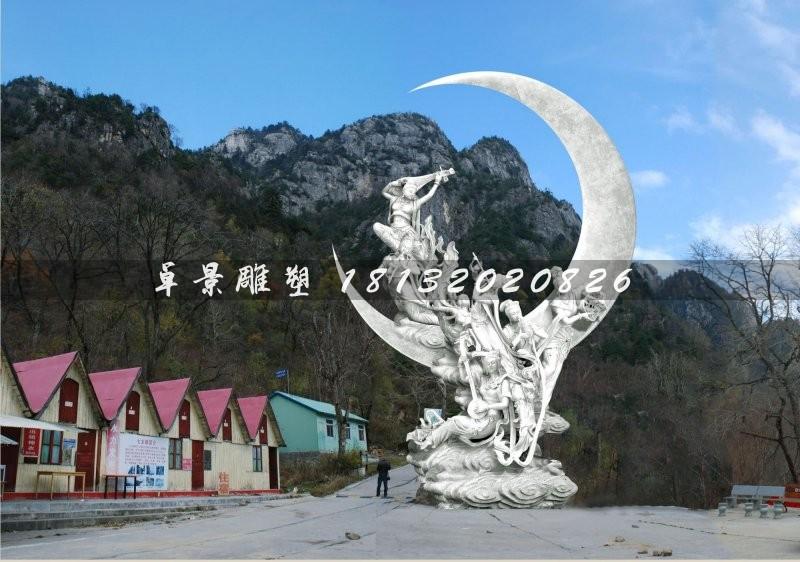 仙樂雕塑城市不銹鋼雕塑[1][1]