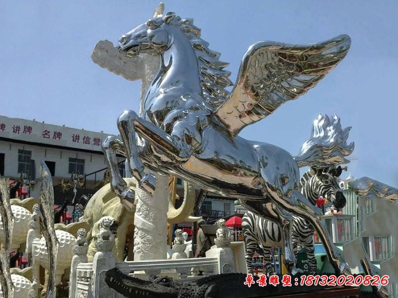 不銹鋼鏡面飛馬