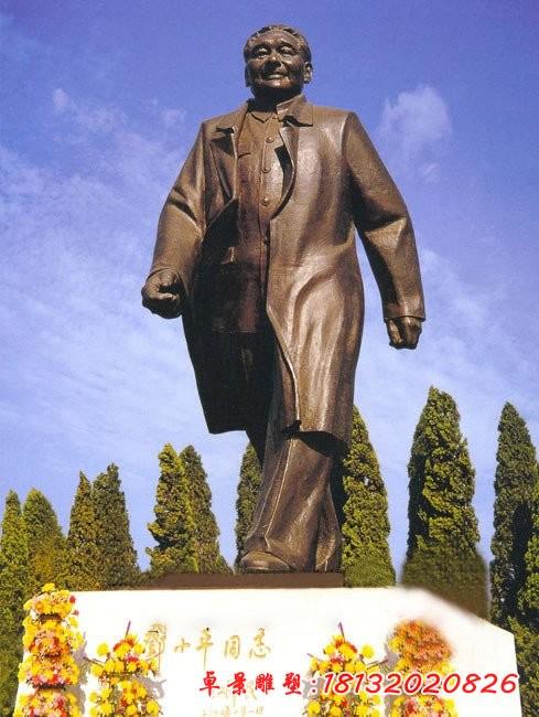 偉人鄧小平銅雕