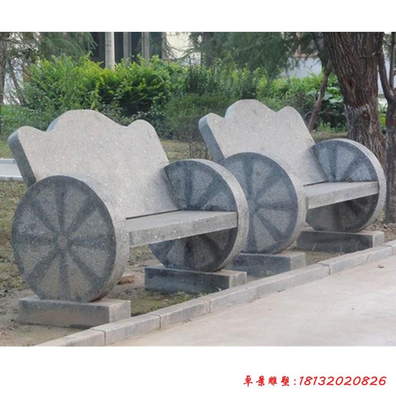 抽象凳子雕塑