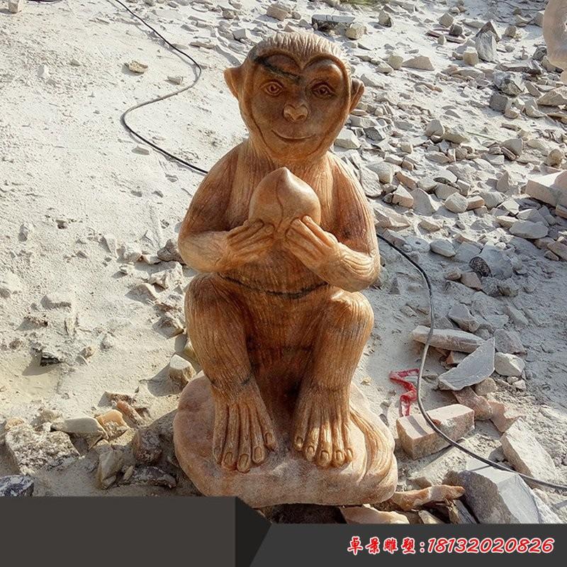 抽象猴雕塑