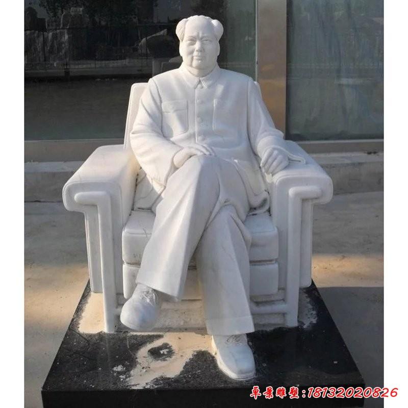 毛主席坐像雕塑