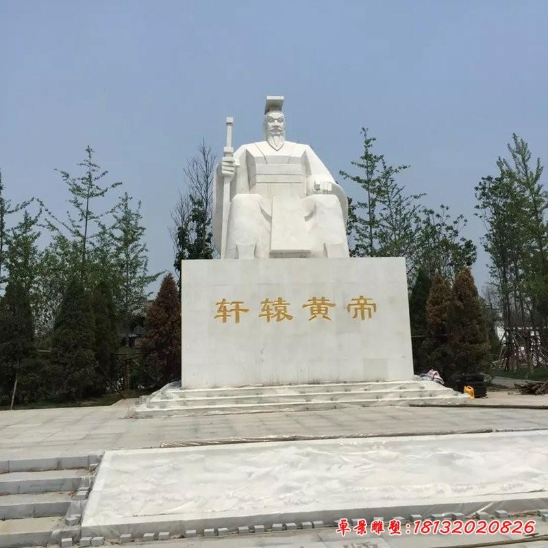 軒轅黃帝雕塑