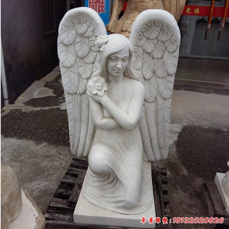 女神翅膀雕塑