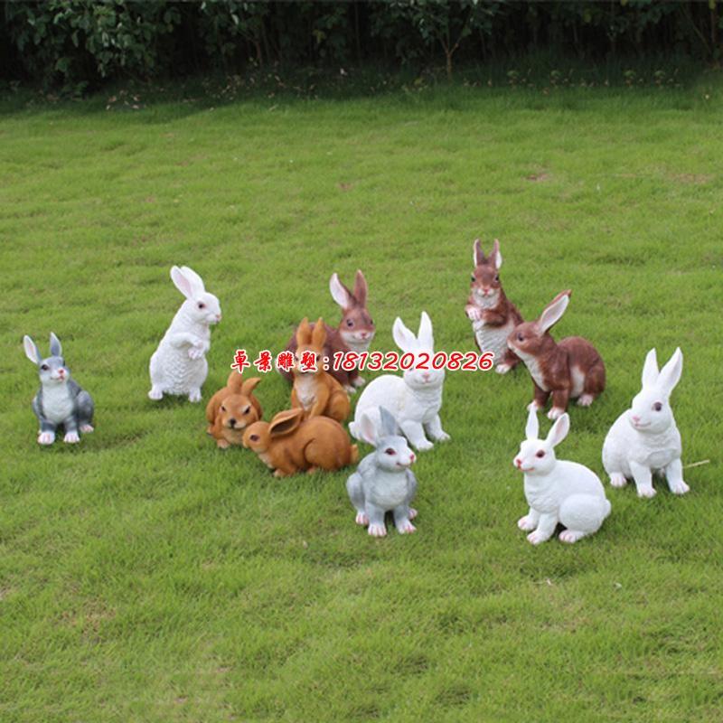 圣彼得堡 兔子 雕塑