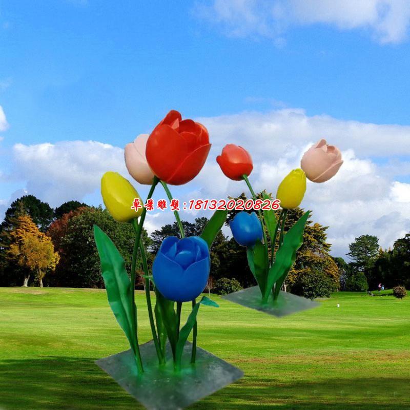 立體雕塑花朵