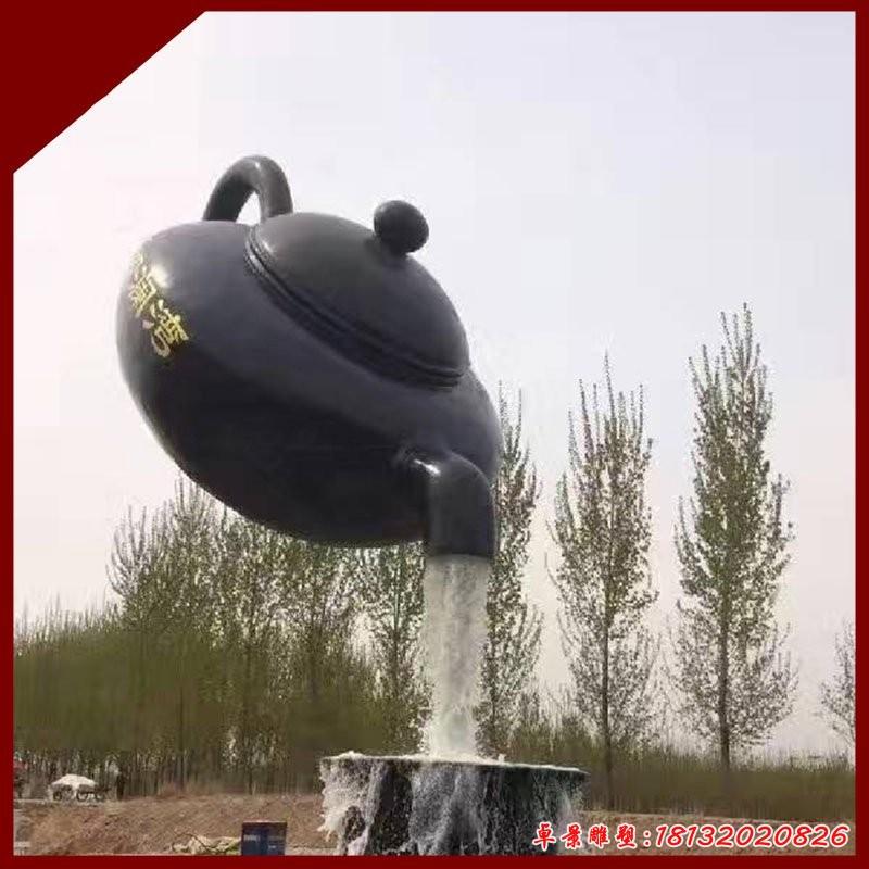 月塘茶壺雕塑